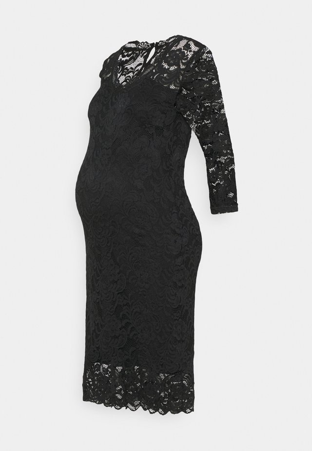 MLMIVANA 3/4 DRESS - Korte jurk - black