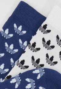 adidas Originals - THIN 2 PACK - Chaussettes - skytin/white - 2