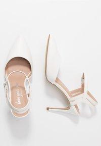 New Look - TIA - Lodičky na vysokém podpatku - white - 3
