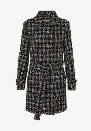COAT - Manteau classique - black/white