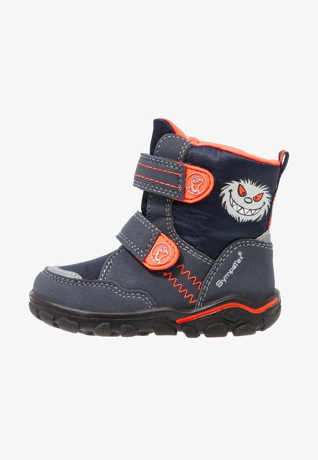 KEV SYMPATEX - Zimní obuv - atlantic/orange