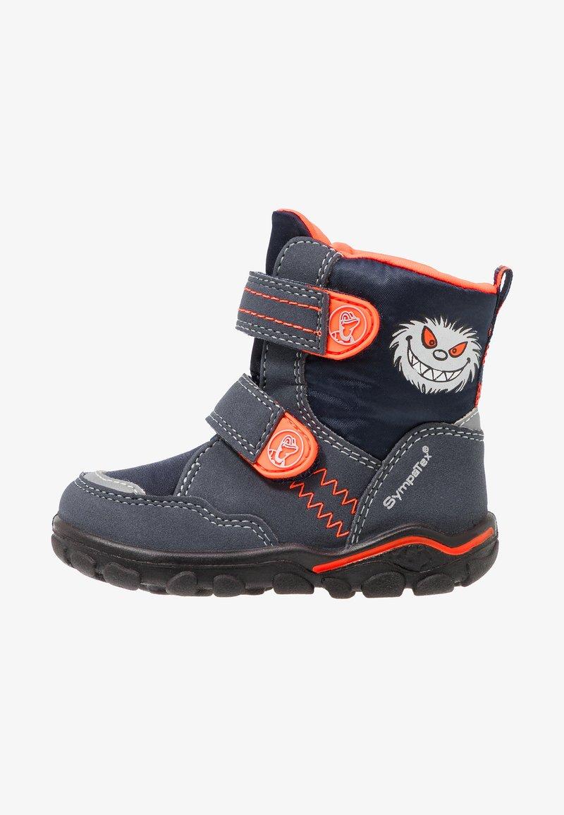 Lurchi - KEV SYMPATEX - Snowboots  - atlantic/orange