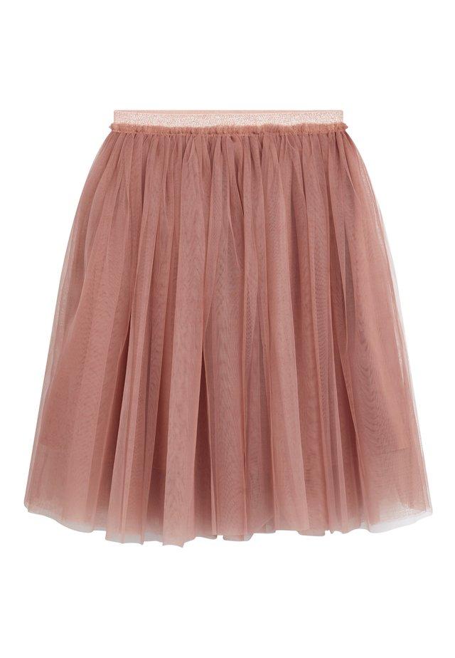 PINK MIDI TUTU SKIRT (3MTHS-7YRS) - Áčková sukně - pink