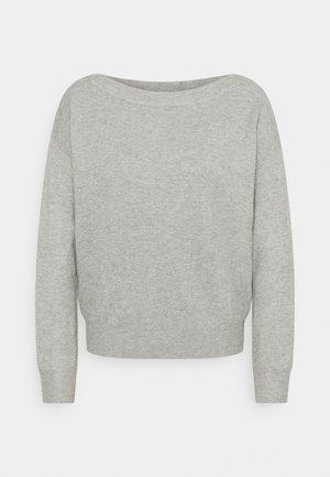 IHALPA - Svetr - grey melange
