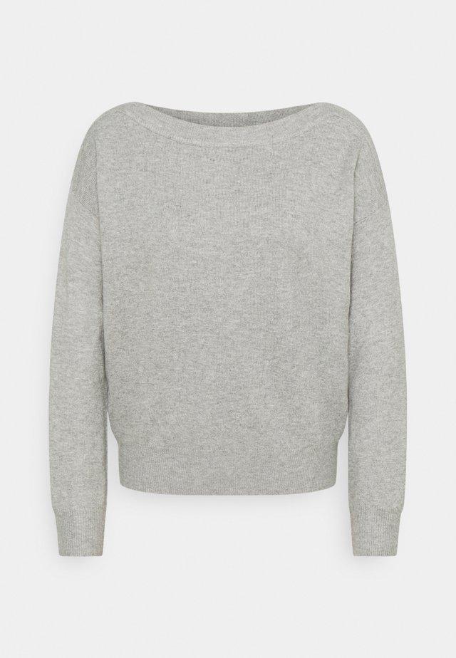 IHALPA - Trui - grey melange