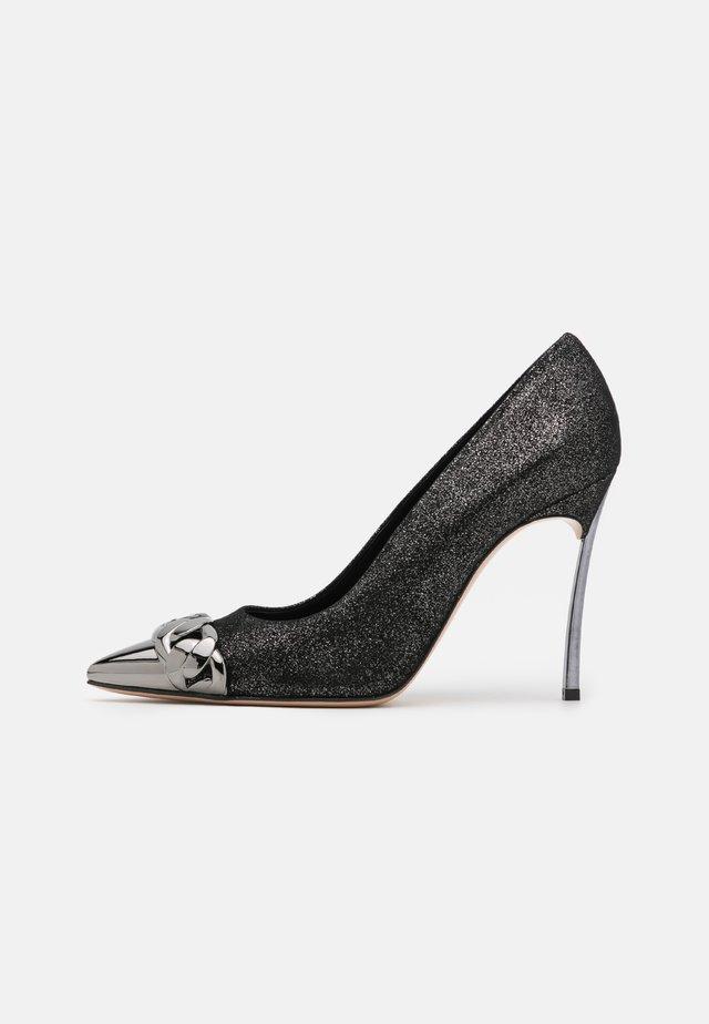 Zapatos altos - dark phoenik gunmetal