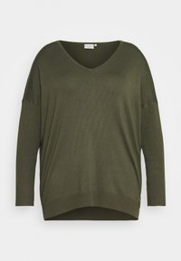 Kaffe Curve - MACHI  - Jumper - grape leaf - 4