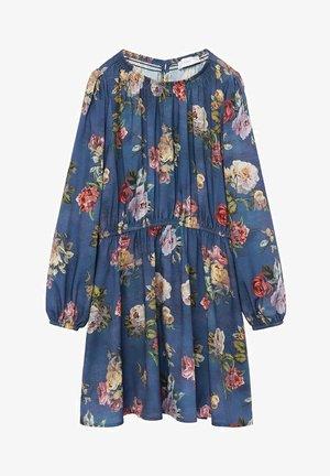 ROSAS - Korte jurk - bleu