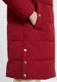 Esprit - PADDED COAT - Winter coat - dark red - 5