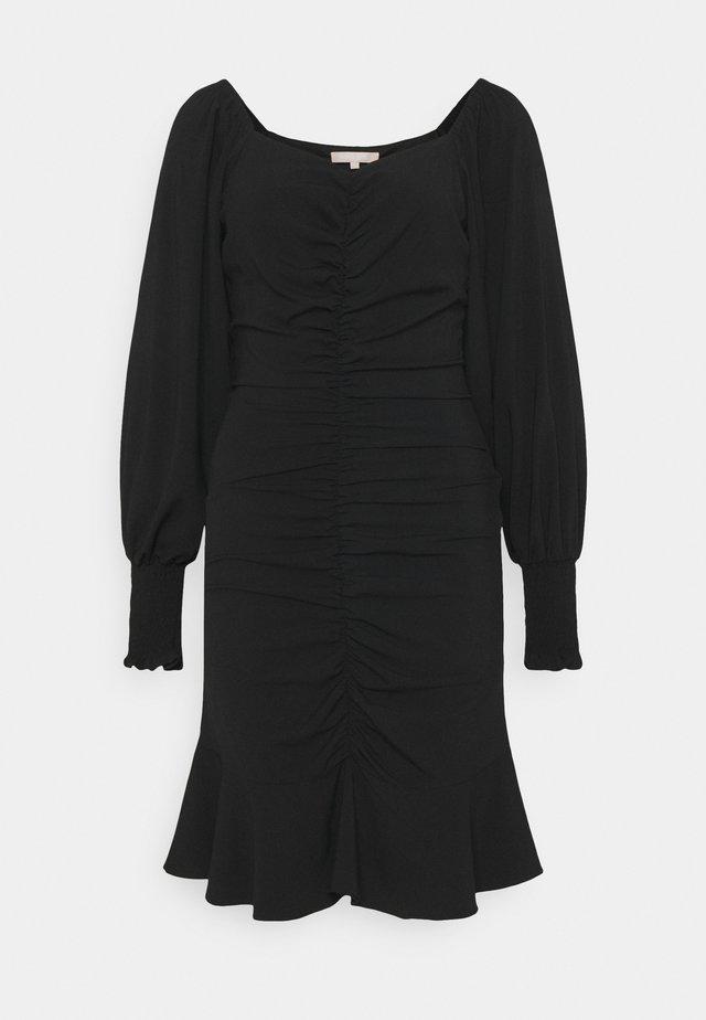 MAGGIE DRESS - Žerzejové šaty - black