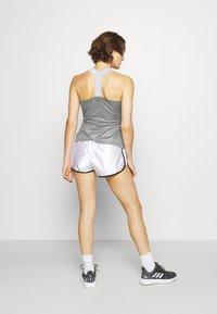 adidas Performance - CLUB SHORT - Krótkie spodenki sportowe - white - 2
