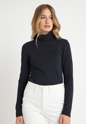TANNER   - Long sleeved top - navy noir