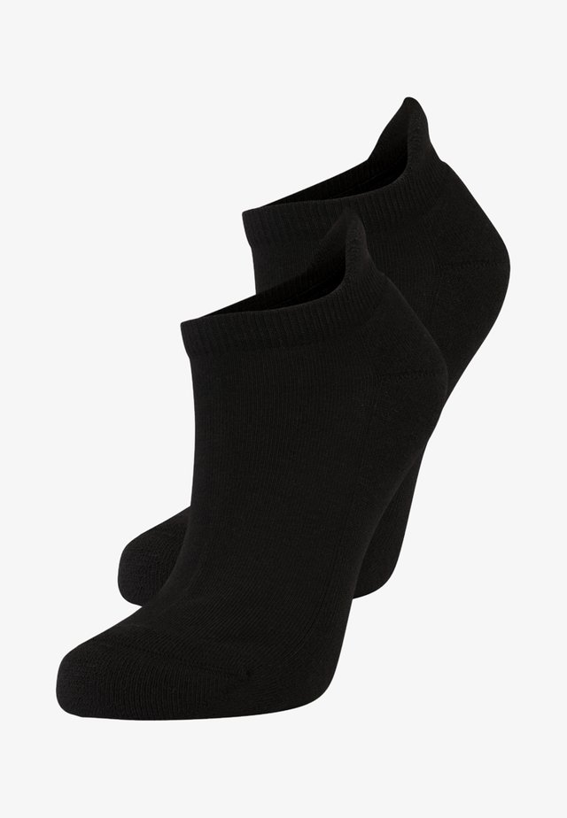 ONLY PLUSH 2 PACK - Socks - black