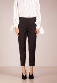 J.CREW - MARTIE  - Spodnie materiałowe - black - 0