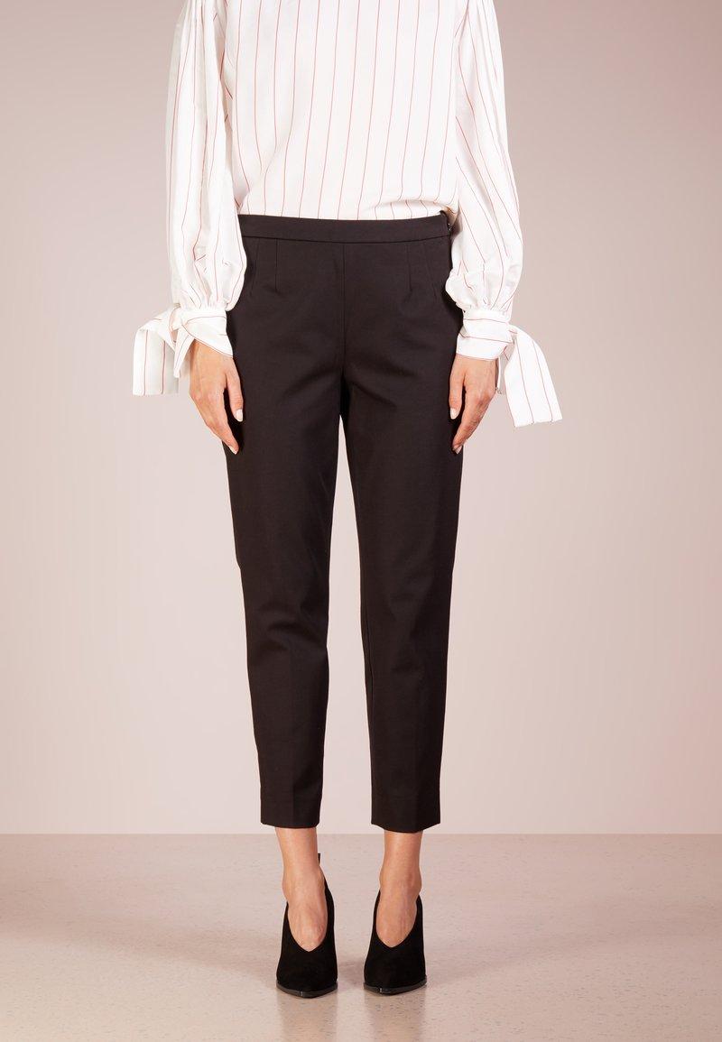 J.CREW - MARTIE  - Spodnie materiałowe - black