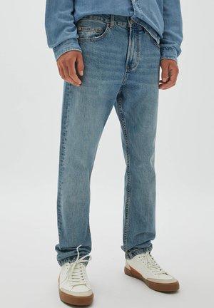 Džíny Straight Fit - light blue denim