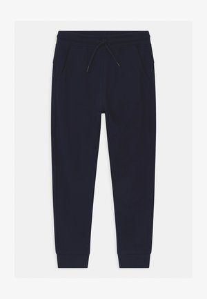 TERRY - Tracksuit bottoms - navy blazer