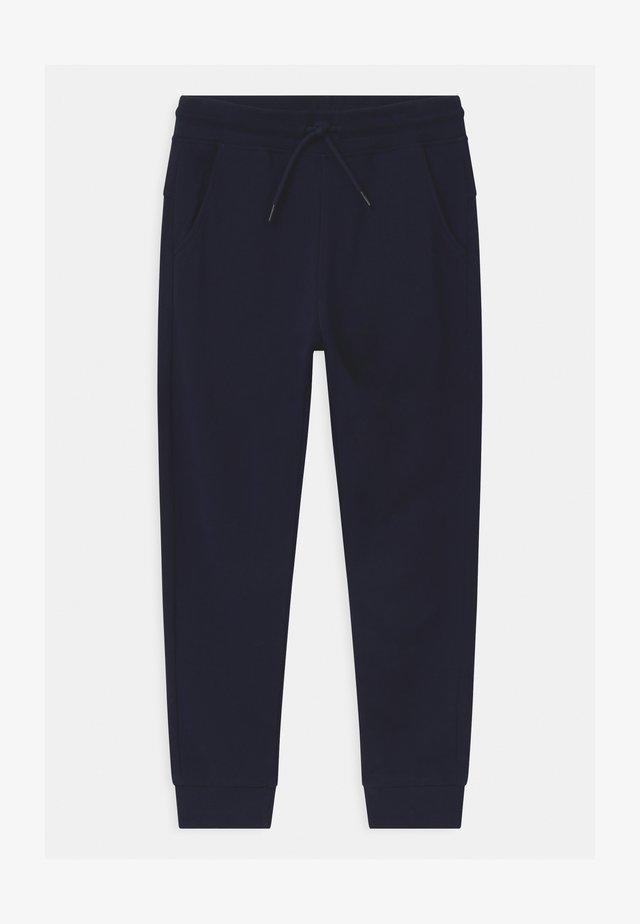TERRY - Tracksuit bottoms - navy blazer