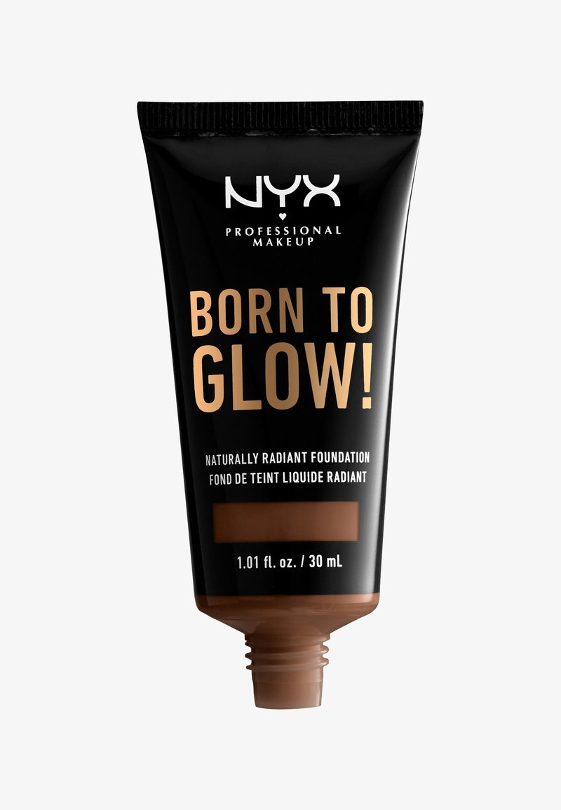 Nyx Professional Makeup - BORN TO GLOW NATURALLY RADIANT FOUNDATION - Foundation - 20 deep rich