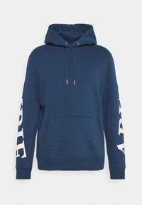 Abercrombie & Fitch - SCALE PRINT LOGO - Sweatshirt - blue - 0
