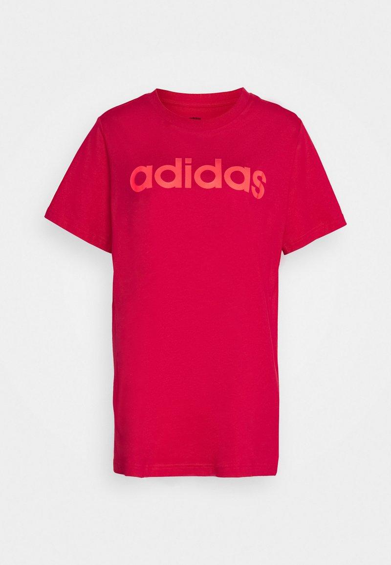 adidas Performance - Camiseta estampada - power pink/signal pink