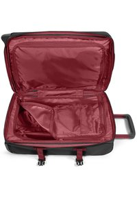 Eastpak - TRANVERZ M - Wheeled suitcase - blakoutstripred - 4
