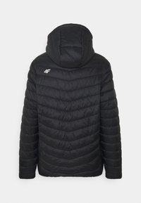 4F - Men's insulated jacket - Training jacket - black - 1