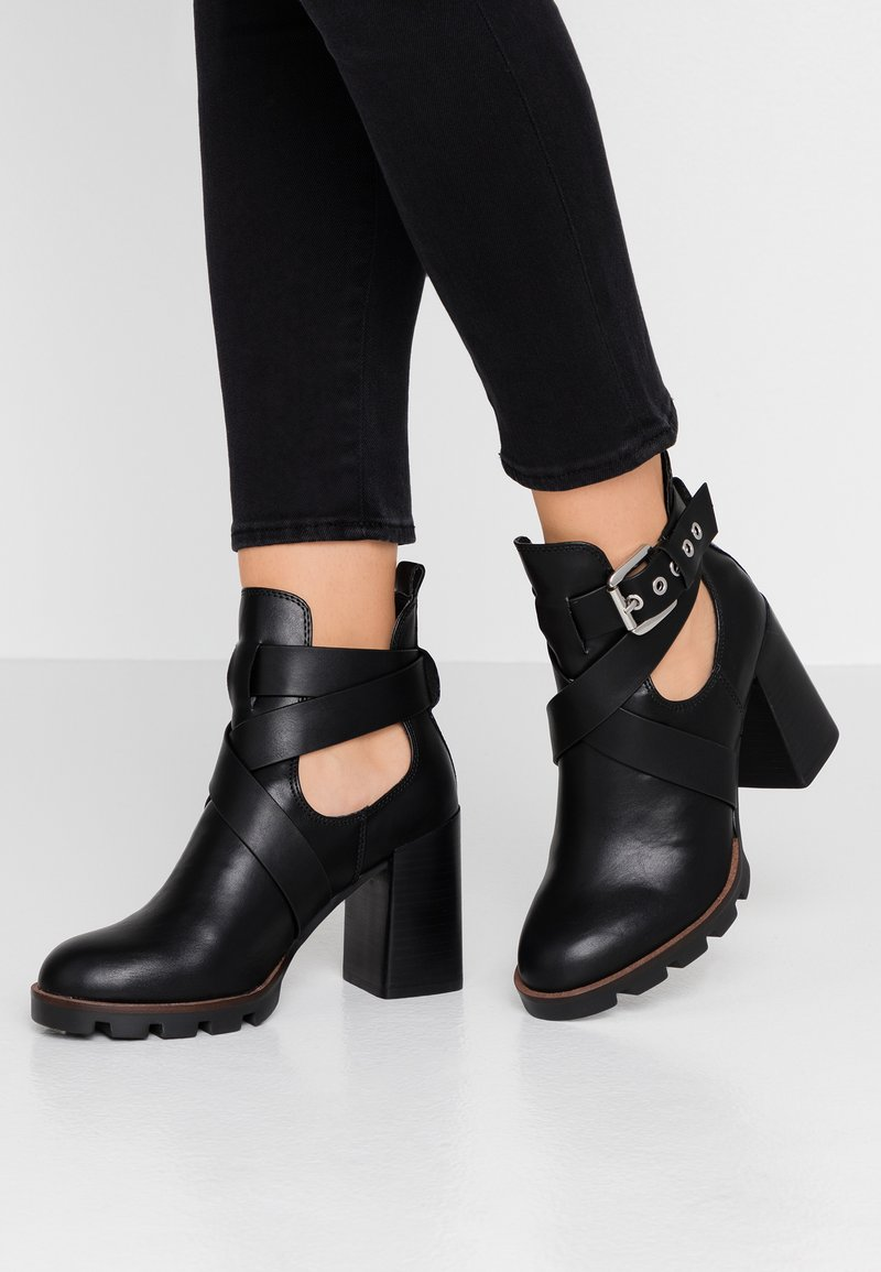 River Island - High Heel Stiefelette - black