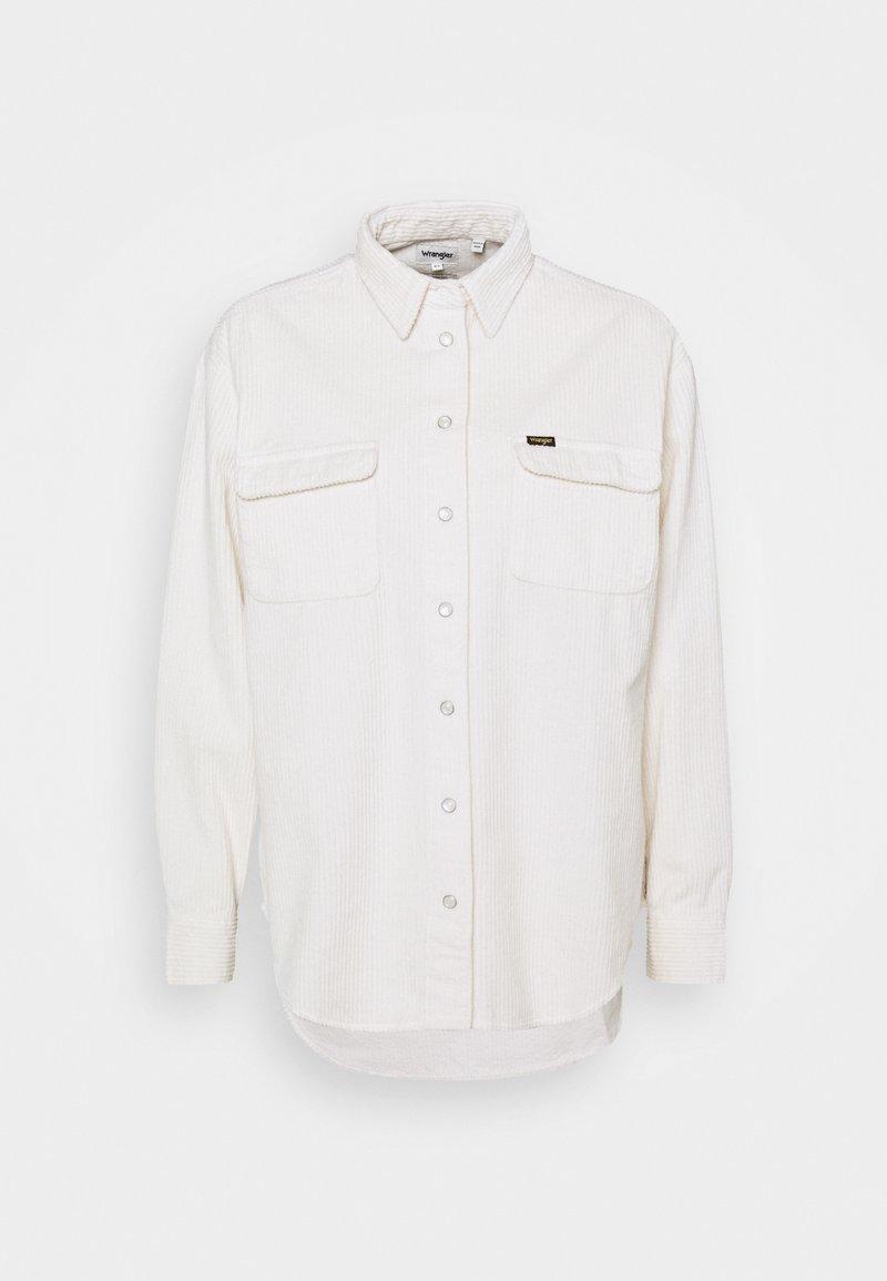 Wrangler - WINTER - Button-down blouse - whisper white