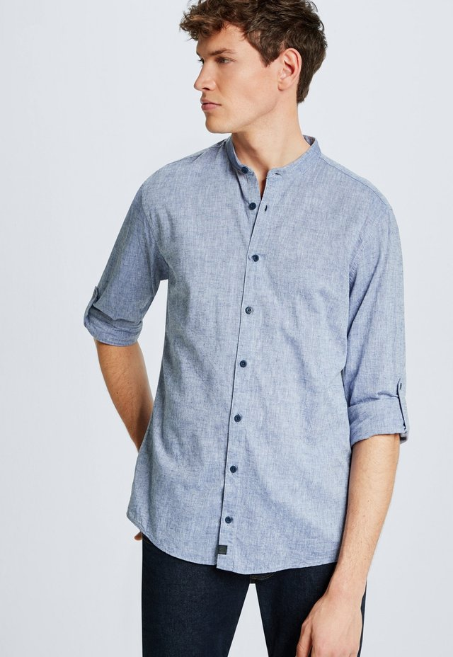 CONELL - Shirt - washed navy