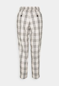 b.young - BYDOTHA CHECKED PANTS - Trousers - birch mix - 1