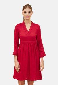 La Fiancée du Mékong - GAREN - Day dress - red - 0