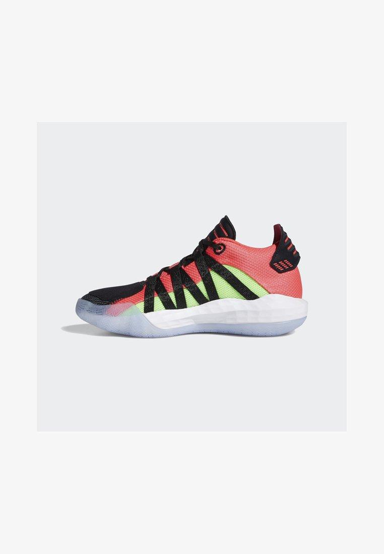 adidas Performance - DAME 6 SHOES - Basketball shoes - black
