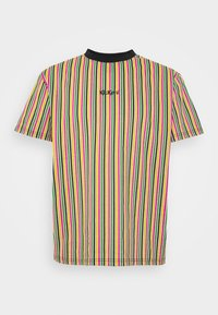 Kickers Classics - VERTICAL STRIPE TEE - T-shirt con stampa - yellow/green/pink - 4
