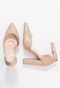 RAID Wide Fit - WIDE FIT MAHI - High heels - nude - 3