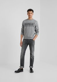 Barbour International - LARGE LOGO - Sweatshirt - anthracite marl - 1