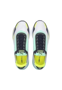 Puma - PUMA LQDCELL OPTIC XI RUNNING SHOES MALE - Neutrala löparskor - white-g glimmer-y alert - 2