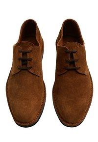 Mango - Chaussures à lacets - middenbruin - 4