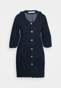 Glamorous Curve - Denim dress - dark navy - 0