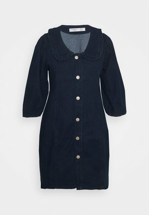 Denimové šaty - dark navy