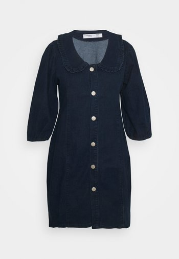 Denim dress - dark navy