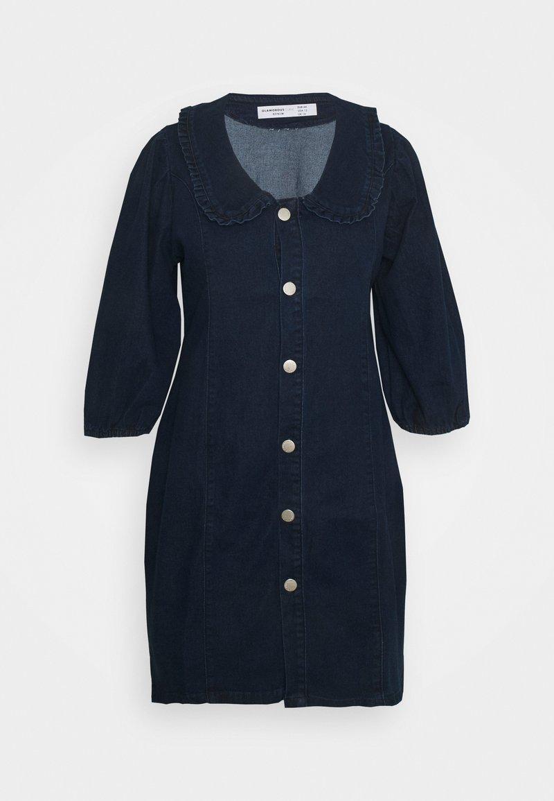 Glamorous Curve - Denim dress - dark navy