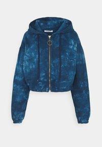 Glamorous Tall - LADIES JACKET TIE DYE - Denim jacket - blue - 0