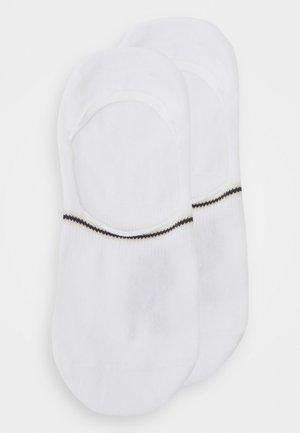 2 PACK - Trainer socks - white