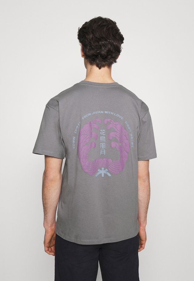 MONDOKORO UNISEX - T-shirt con stampa - frost grey