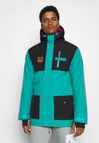 OOSC - YEH MAN JACKET  - Ski jacket - green/black - 0