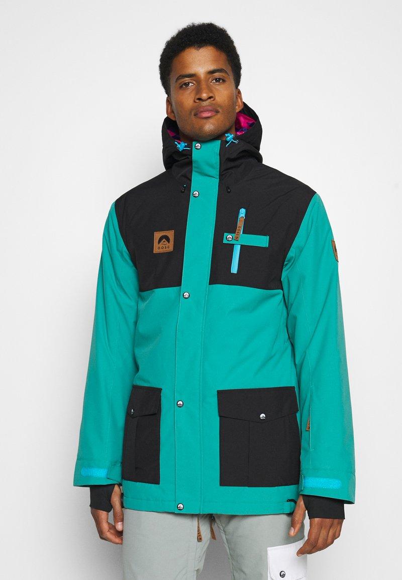 OOSC - YEH MAN JACKET  - Ski jacket - green/black