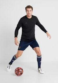 adidas Performance - FINALE - Fodbolde - black/solar red/grey heather - 1