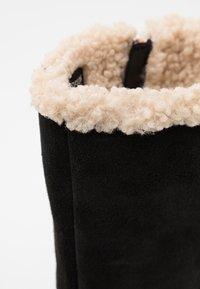 Jack Wolfskin - AUCKLAND WT TEXAPORE  - Zimní obuv - black/beige - 5