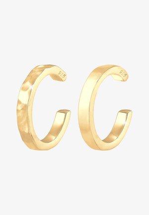 EARCUFF SET  - Earrings - gold-coloured